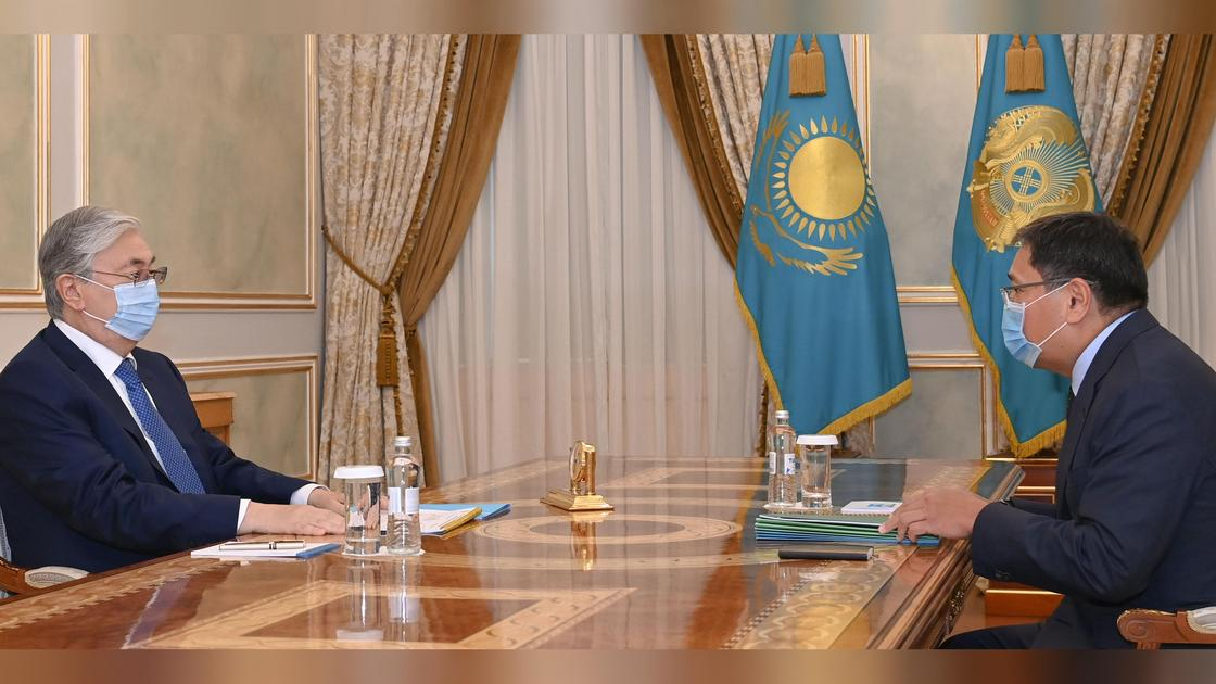 Касым-Жомарт Токаев и Ерболат Досаев