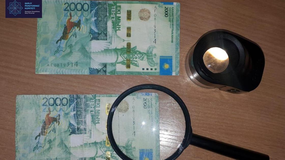 Поддельные купюры нашли в банках Павлодара