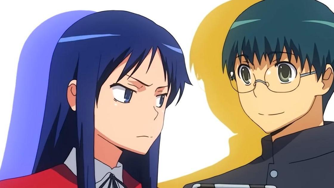 Кадр из аниме «Торадора!»