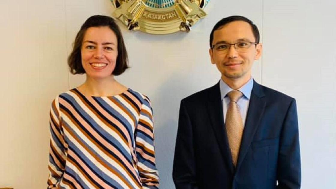 Мария Михайлова и Талгат Жумагулов