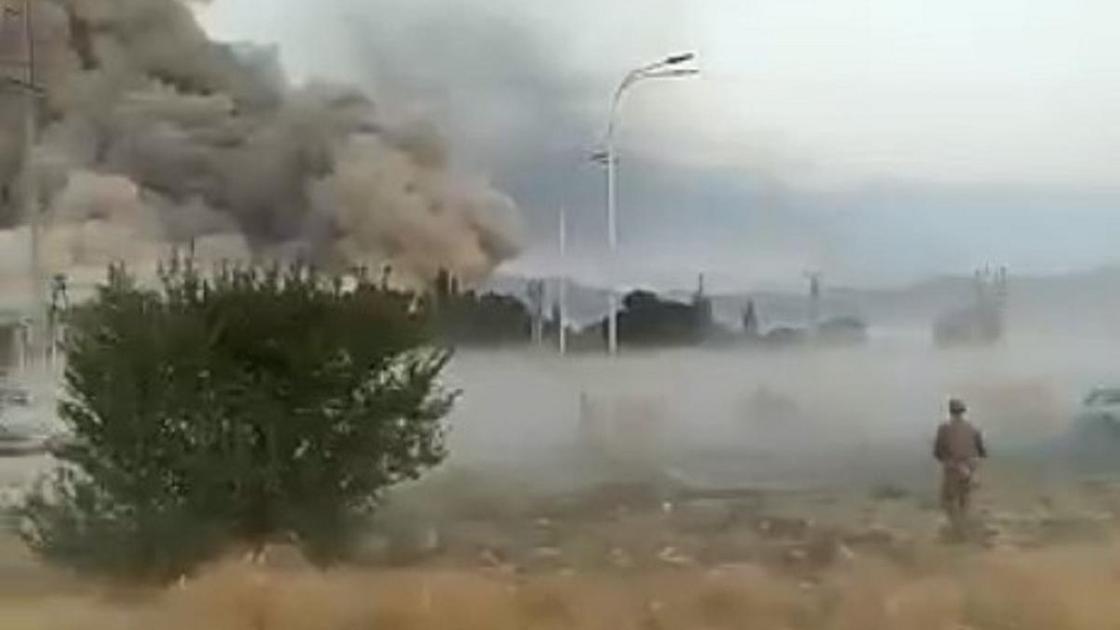 Взрывы в Жамбылской области