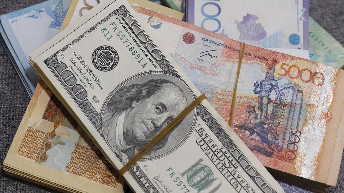 теңге мен доллар 1