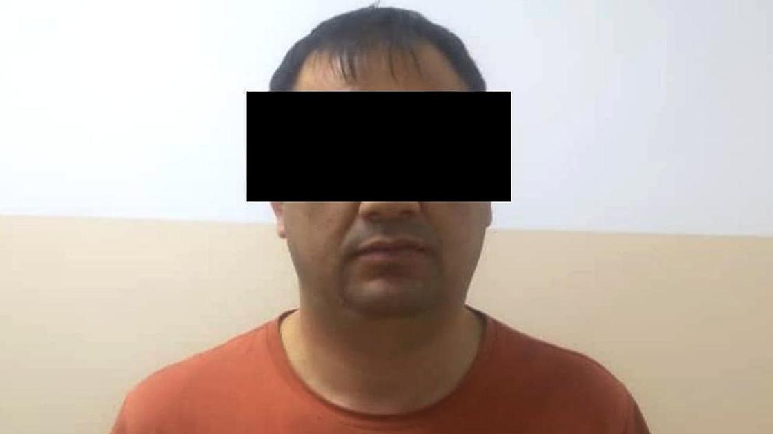 Задержанный в Бишкеке гражданин Китая