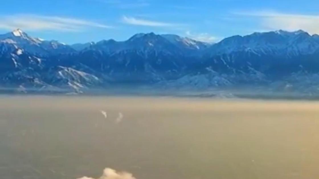 Пелена смога стелется над Алматы