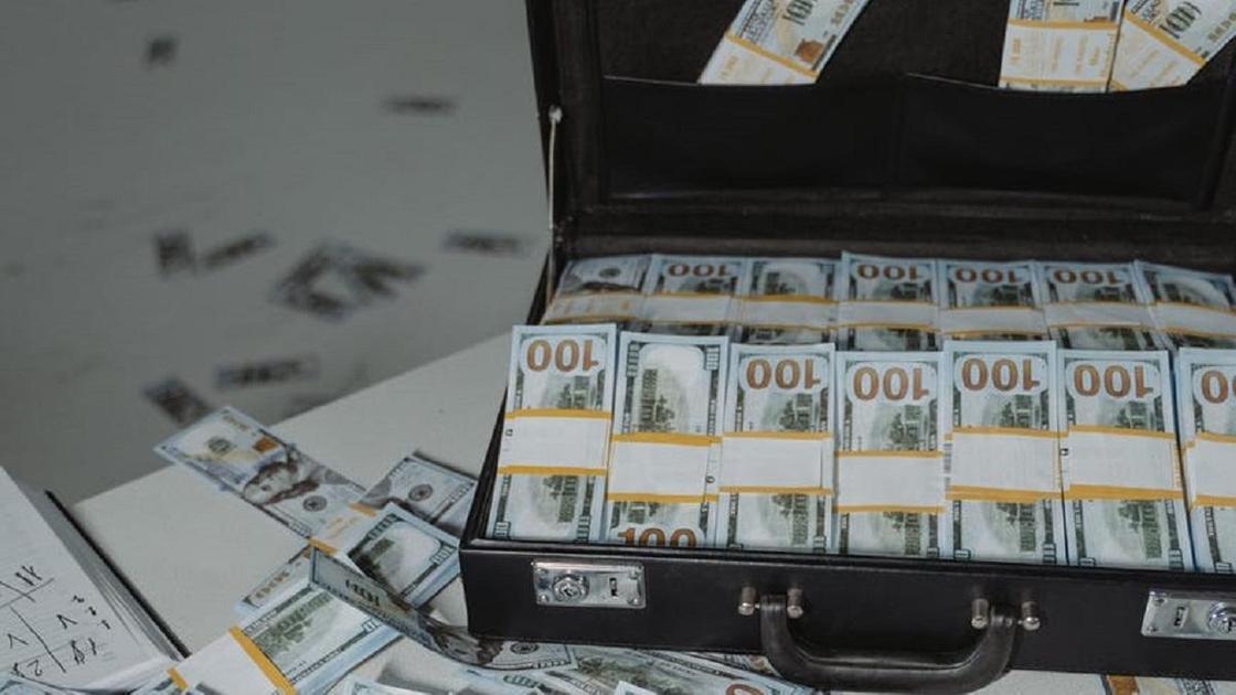 Доллары в чемодане