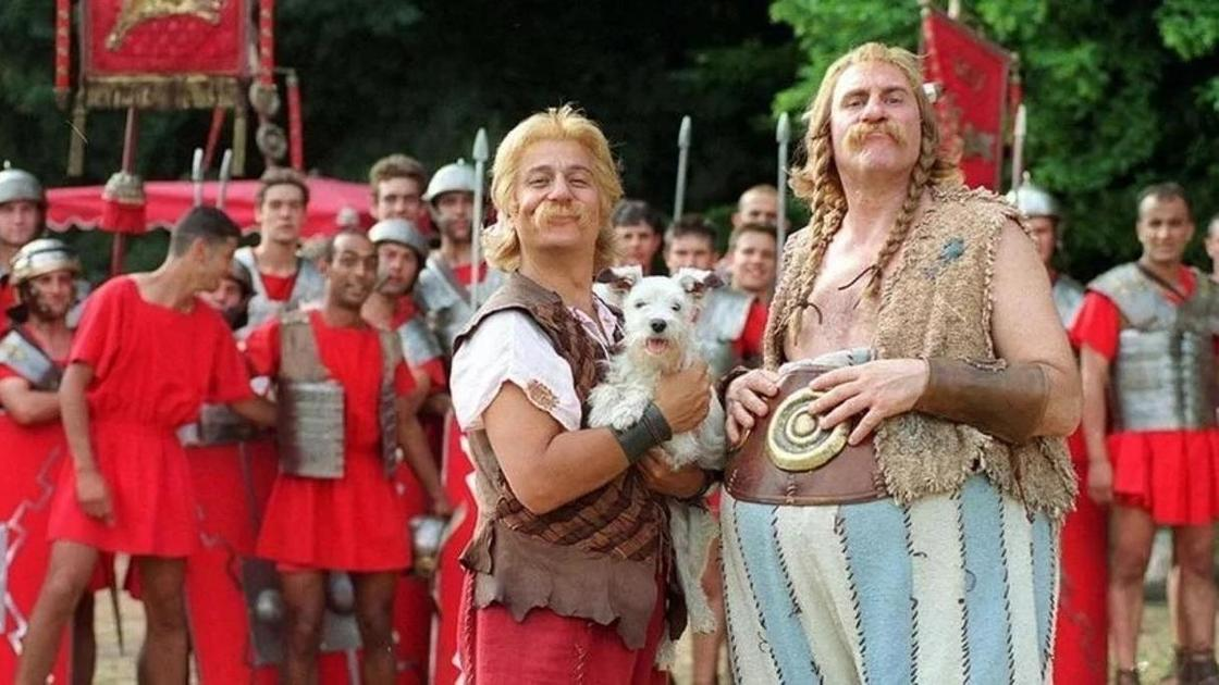 Астерикс и Обеликс (кадр из фильма)