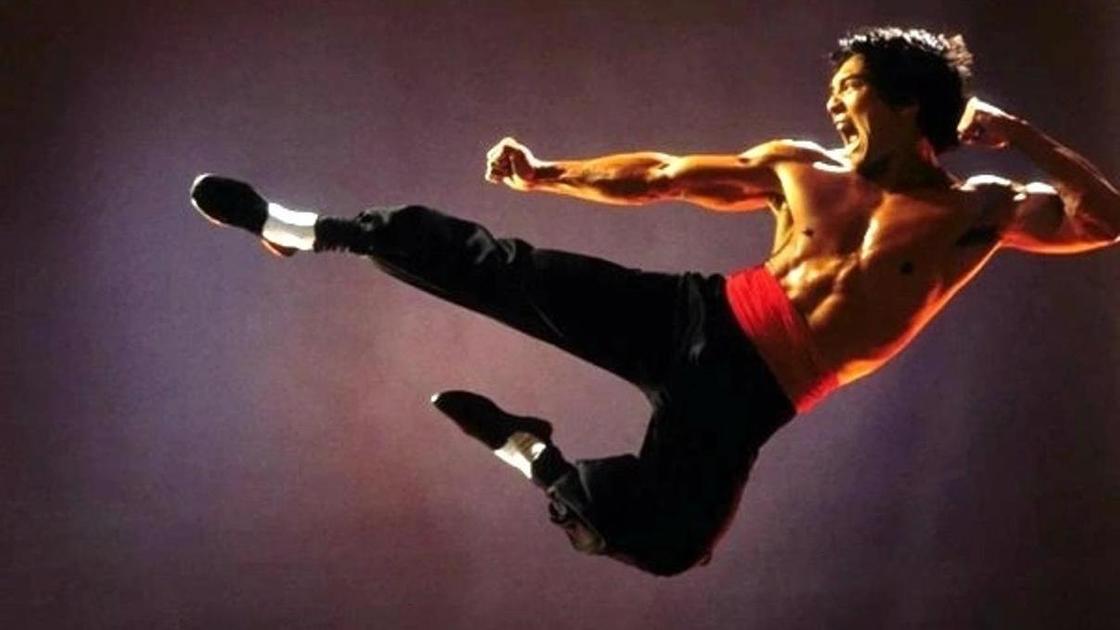 Кадр из фильма про боевые искусства
