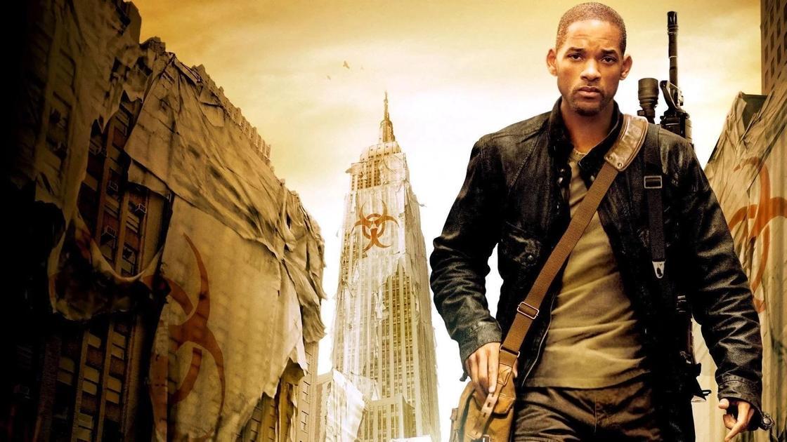 Кадр из фильма «Я — легенда» (2007)