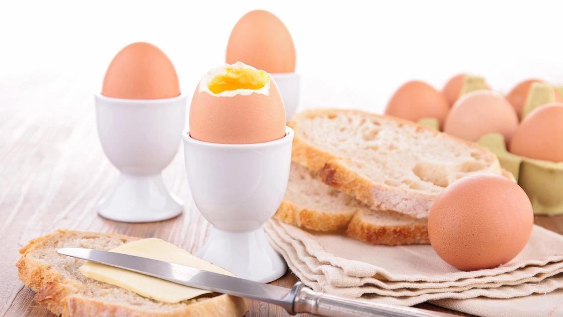 яйца в смятку
