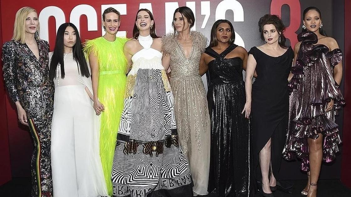актрисы фильма «Восемь подруг Оушена»