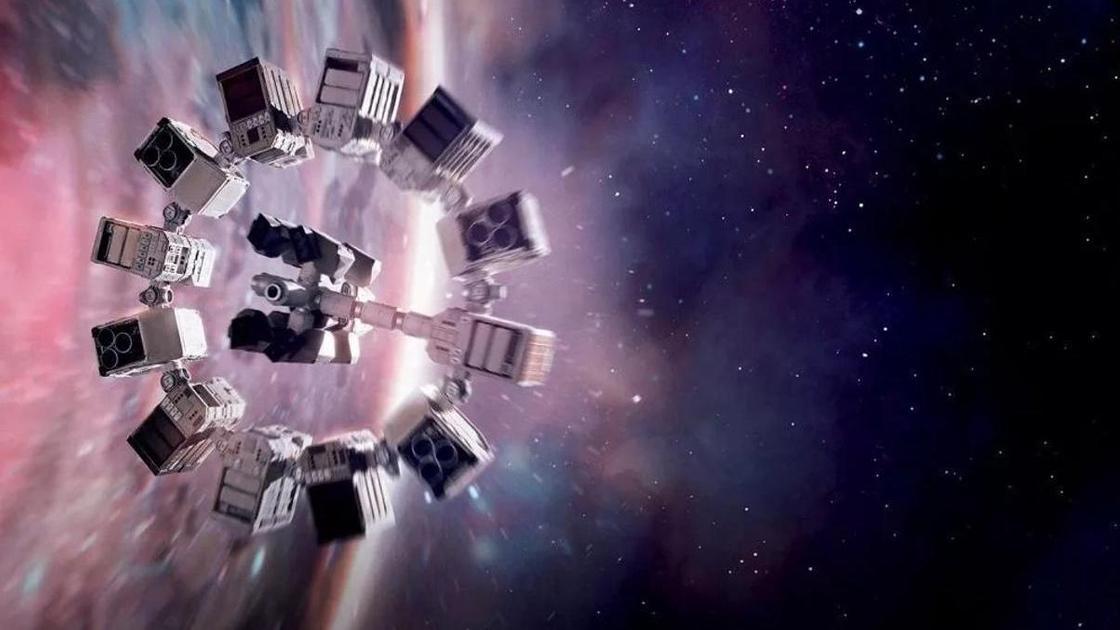 Кадр из фильма про космос