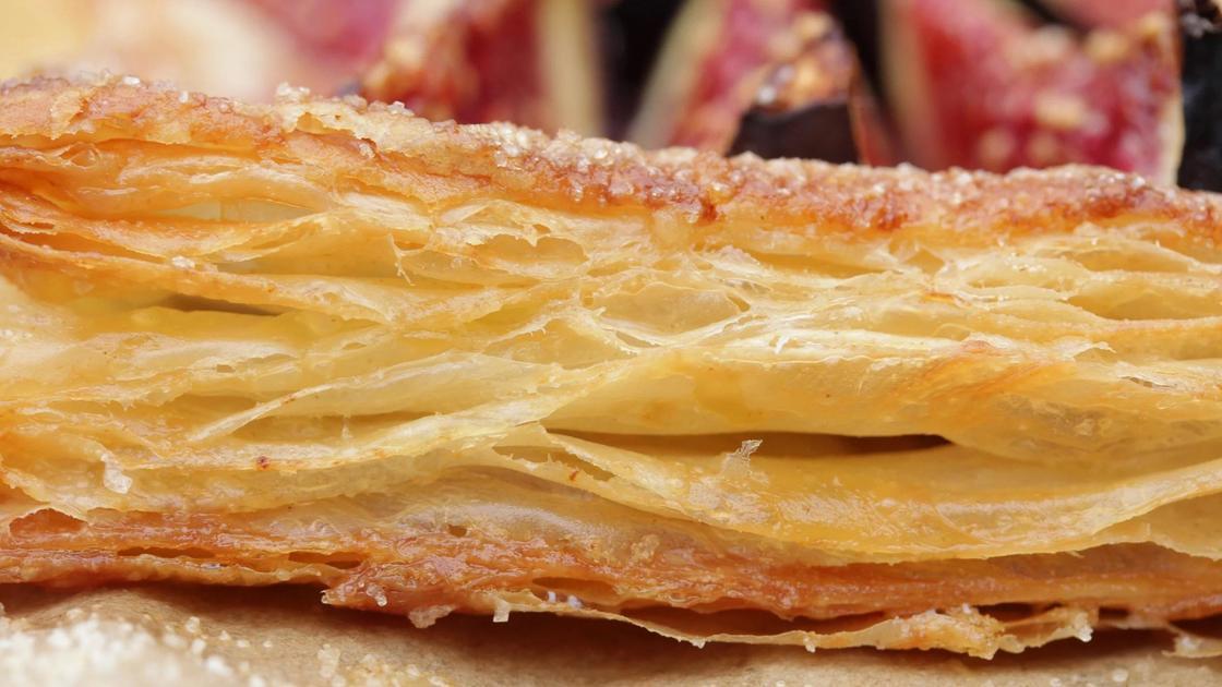 Слоеное тесто для пирога