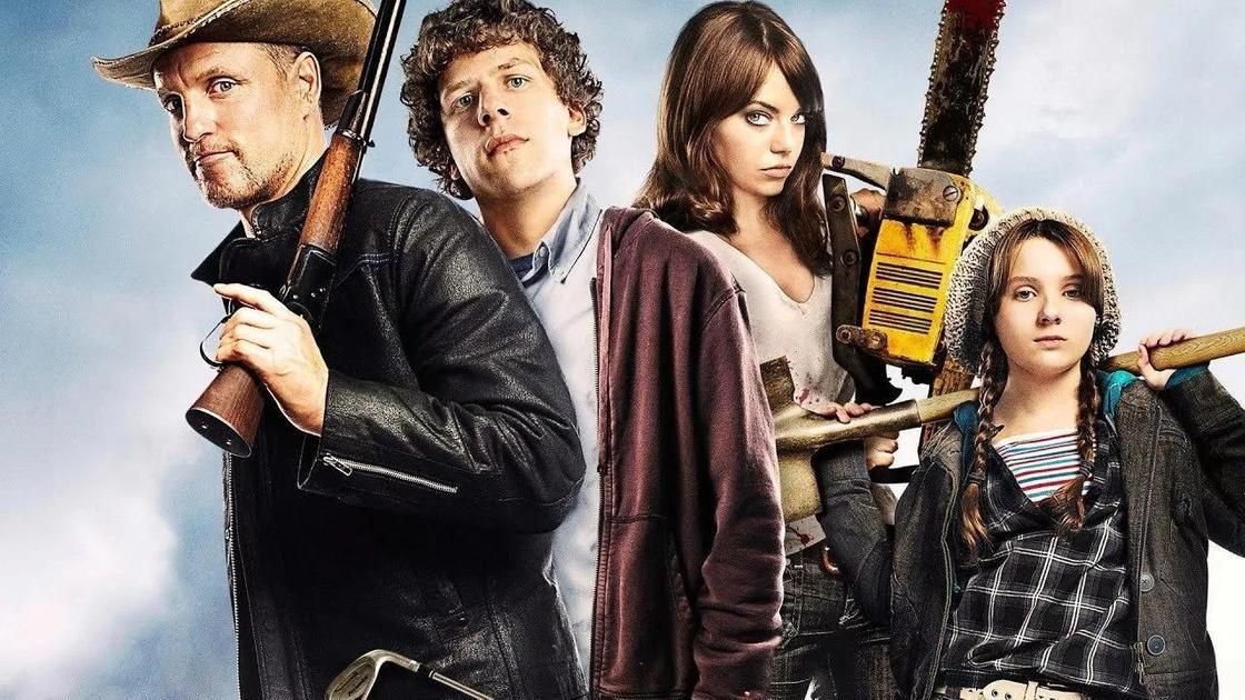 Постер «Добро пожаловать в Зомбилэнд» (2009)