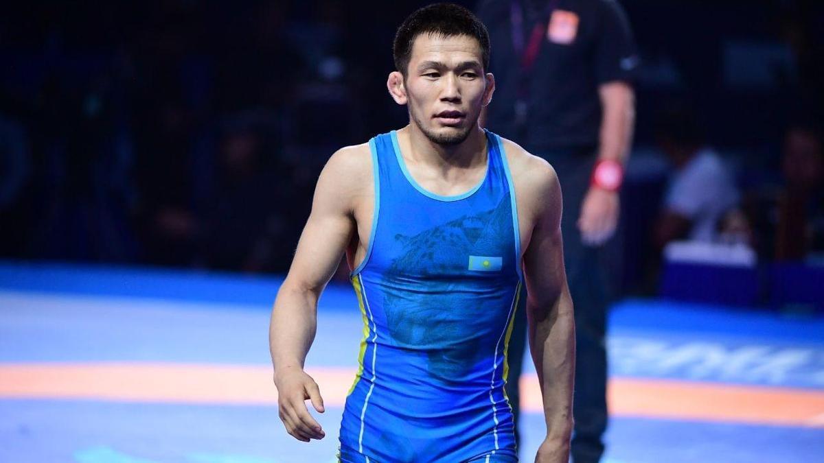 Борец Нурислам Санаев удачно стартовал на Олимпиаде в Токио photo