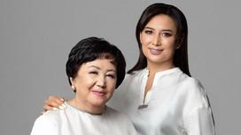 Мадина Садвакасова с мамой