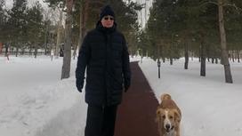 Касым-Жомарт Токаев на прогулке
