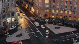 Машины на улицах