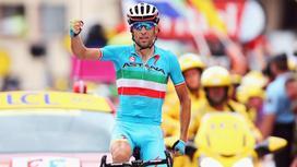 Велогонщик Винченцо Нибали