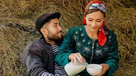 Алия Байтугаева с мужем