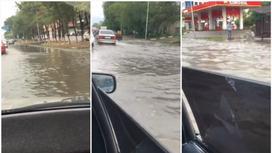 затопленный Алматы 15 августа