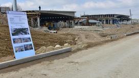 Развязка строится в Алматы