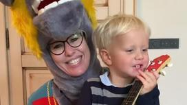 Ксения Собчак с сыном. Фото