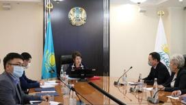 Онлайн-встреча под председательством Аиды Балаевой