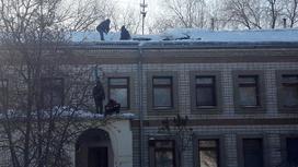 детсад с обрушившейся крышей