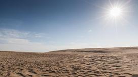 Солнце над пустыней