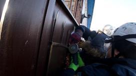 Ребенок проткнул руку штырем в Кокшетау