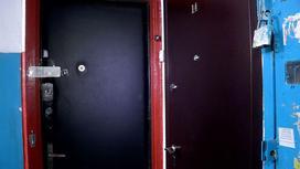 Дверь в доме в Шымкенте