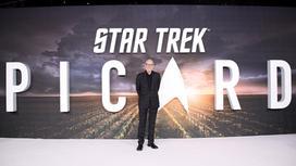 афиша «Звездный путь: Пикар»  и Патрик Стюарт