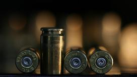 Пули на столе