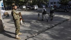 Военнослужащий в Кабуле