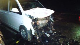 Поврежденный при ДТП автомобиль