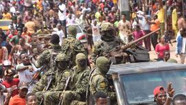 Захват власти в Гвинее