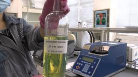Испытания дизельного топлива на Шымкентском НПЗ