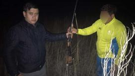 Подозреваемый в Алматинской области