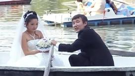 Серик Тлеулесов с женой