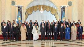 Токаев встретился с главами делегаций, участвующих в работе заседания СМИД СВМДА
