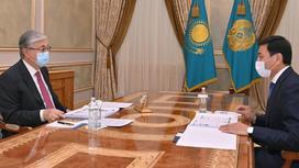 Касым-Жомарт Токаев и Алтай Кульгинов