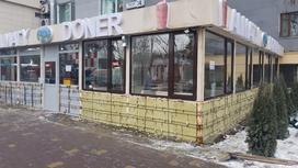 донерную снесли в Алматы