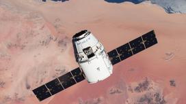 Корабль Resilence Crew Dragon миссии Crew-1 компании SpaceX