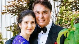 Арман Давлетяров с женой