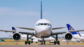 Самолет Air Astana