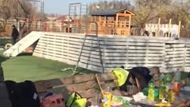 Стрельба в зоне отдыха близ Алматы