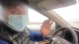 Водитель из Туркестанской области