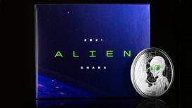 Монета, выпущенная компанией Scottsdale Mint