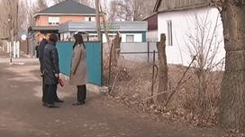 Место ДТП в Алматинской области