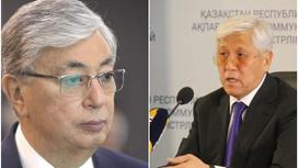Касым-Жомарт Токаев и Амандык Баталов